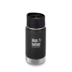 Klean Kanteen Insulated Wide Coffee Mug - Matt Black 355ml