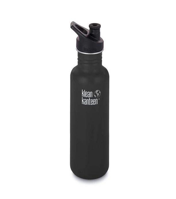 Klean Kanteen Drink Bottle 800ml - Matt Black