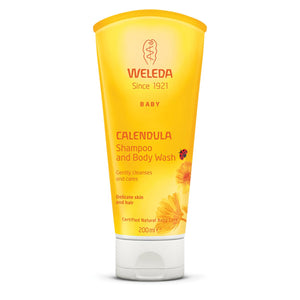 Weleda Baby Calendula Shampoo and body wash 200ml