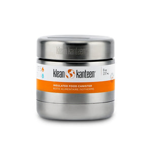 Klean Kanteen Insulated Food Canister 237ml - Brushed Stainless
