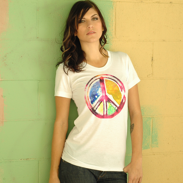Peace In Paint Unisex Tee