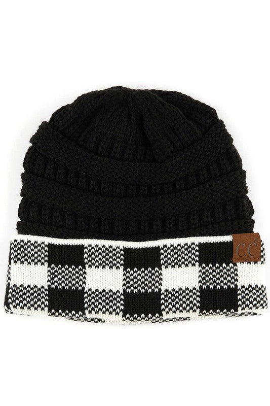 Buffalo Plaid Hat