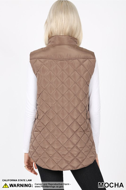 quilted style vest