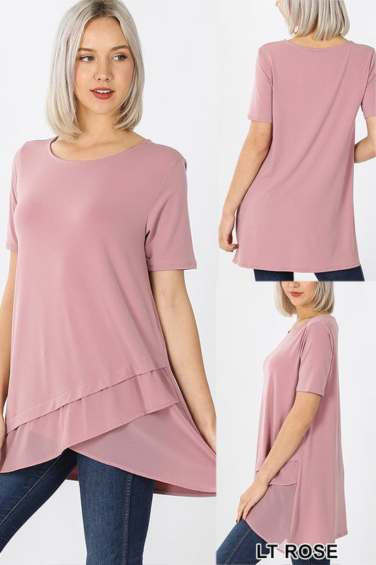Brighter Days Chiffon Top