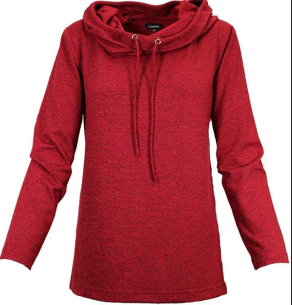 light long sleeve hooded sweater
