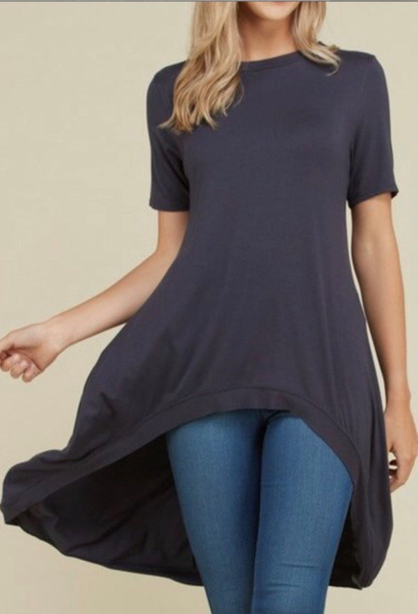 Hi Lo Tunic perfect pairing with skirt or leggings