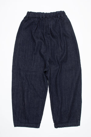Denim Baggy pants 72896-2 DEEPBLUE