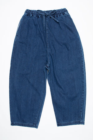 Denim Baggy pants 72896-1 DEEPBLUE