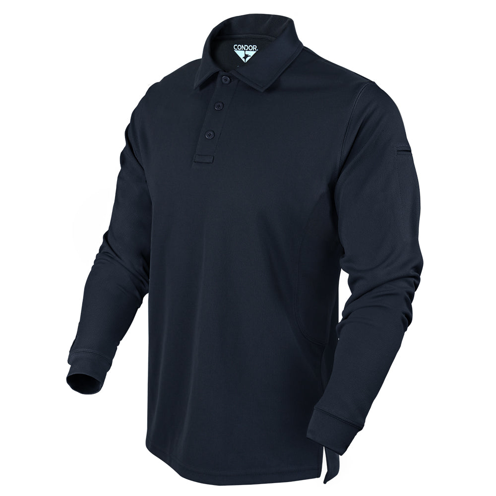 Condor Outdoor Long Sleeve Performance Polo