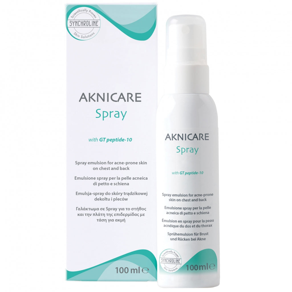 Synchroline Aknicare Chest and Back Spray 100 ml