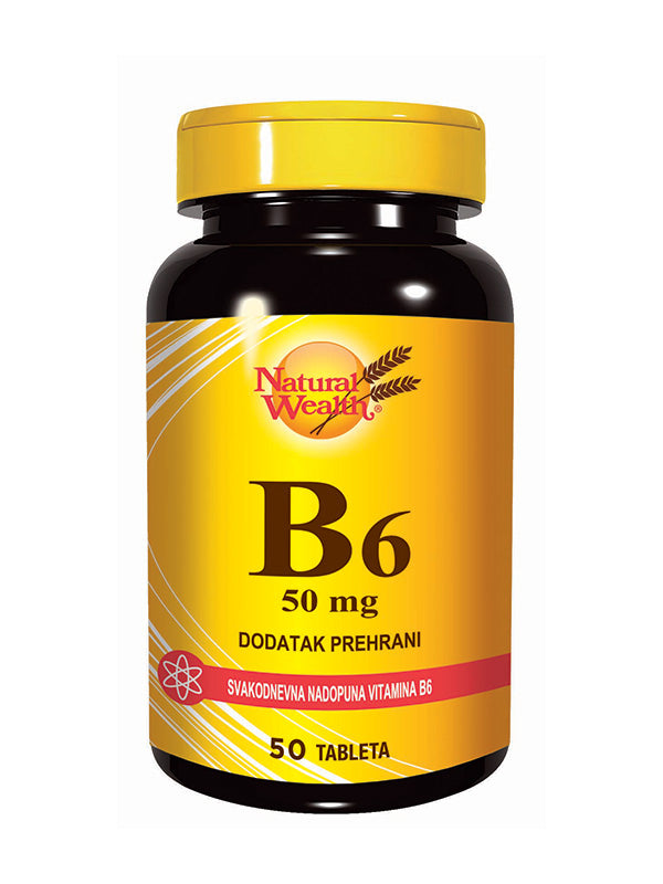 Natural Wealth B6 50 mg - 50 tableta