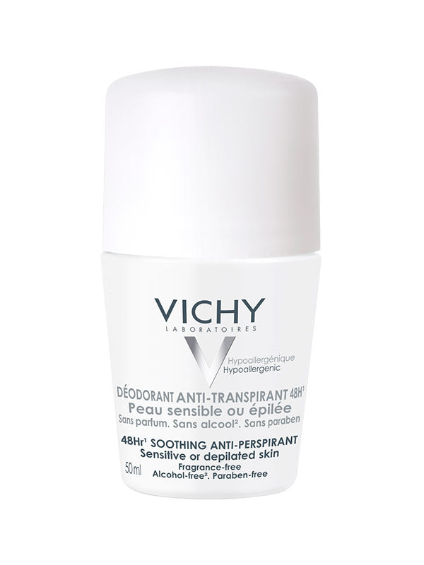 Vichy Roll-on dezodorans antiperspirans 48h - za osjetljivu kožu 50 ml