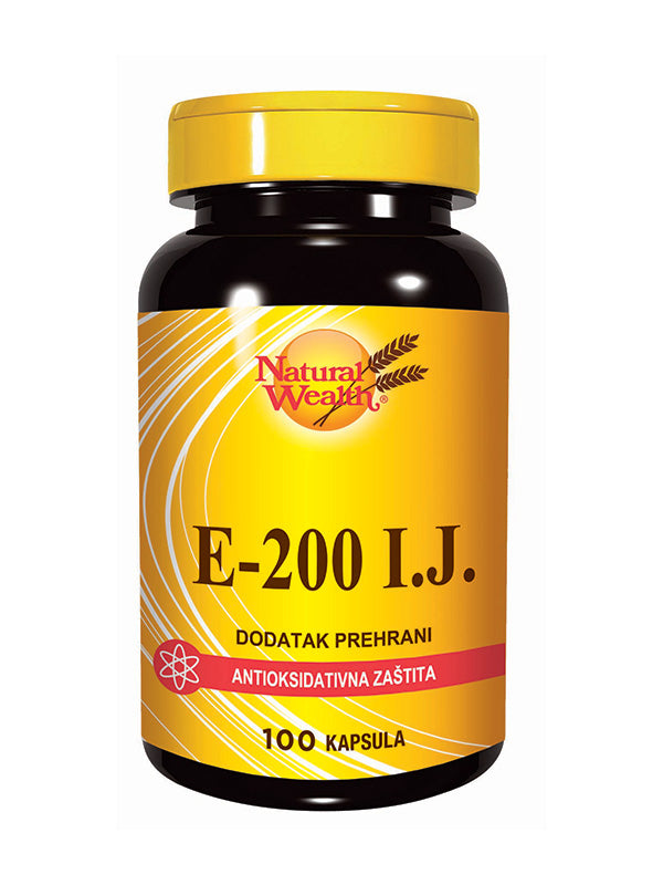 Natural Wealth Vitamin E 200 i.j. 100 kapsula
