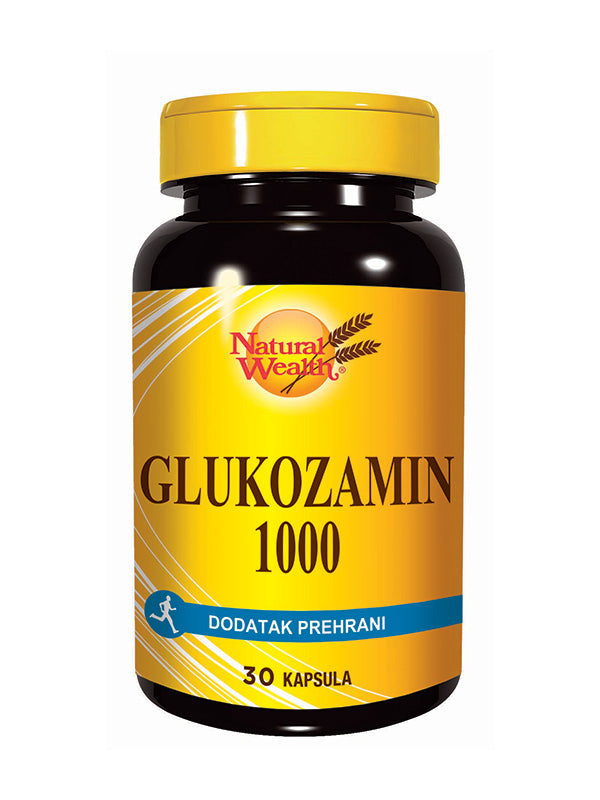 Natural Wealth Glukozamin 1000 30 kapsula