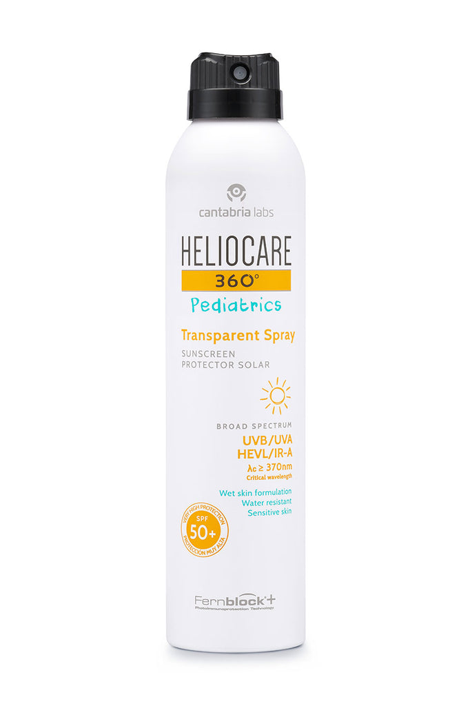 Heliocare 360 Pediatrics Atopics Transparent sprej SPF50 200ml