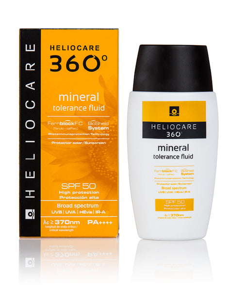 Heliocare 360 mineral tolerance fluid SPF 50+ 50ml