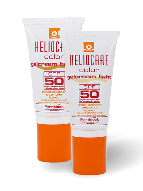Heliocare gel-krema color SPF 50 light, 50ml