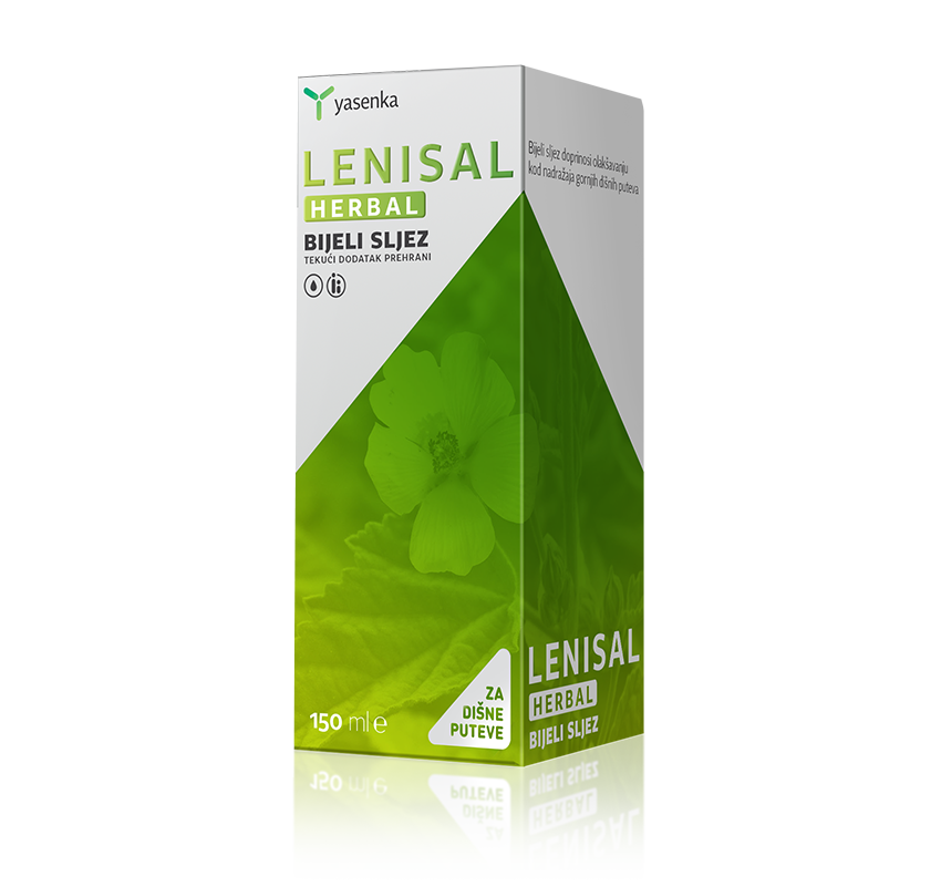 Yasenka Lenisal Herbal Bijeli sljez 150 ml