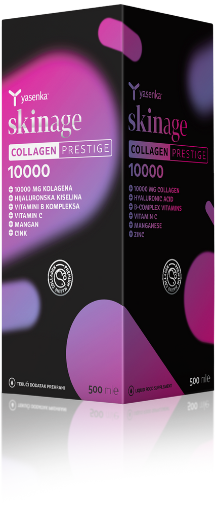Yasenka skinage COLLAGEN PRESTIGE 10000, 500 ml