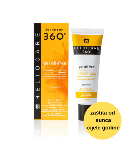 Heliocare 360 gel oil-free SPF 50 50ml