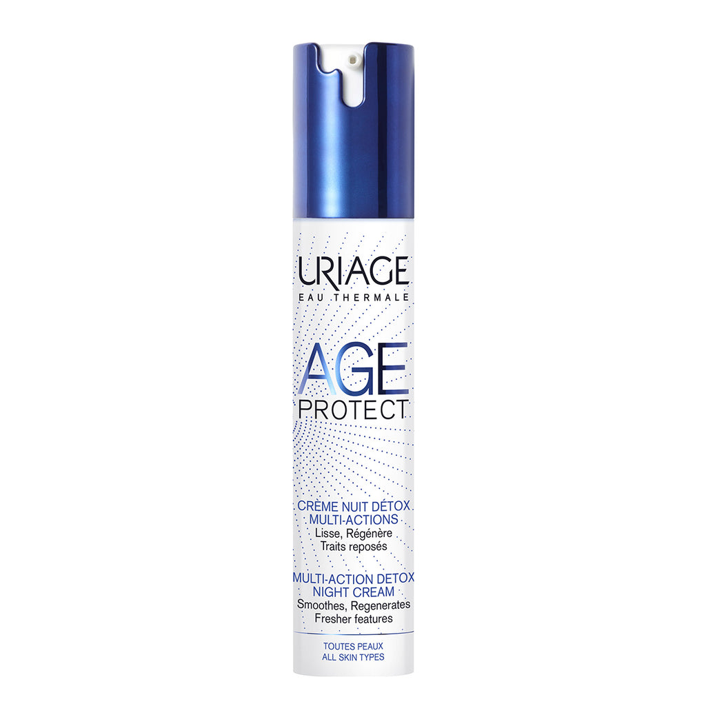 Uriage AGE PROTECT MULTI-ACTION DETOX noćna krema 40 ml