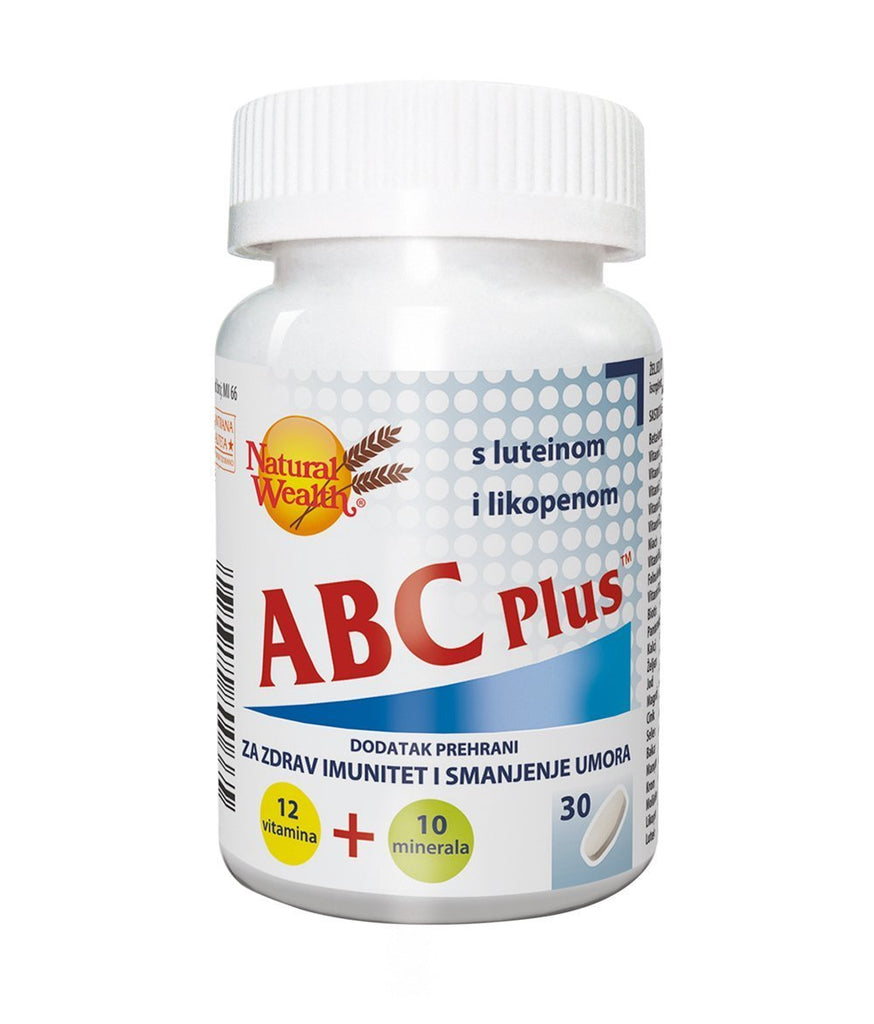 Natural Wealth ABC Plus 30 kom