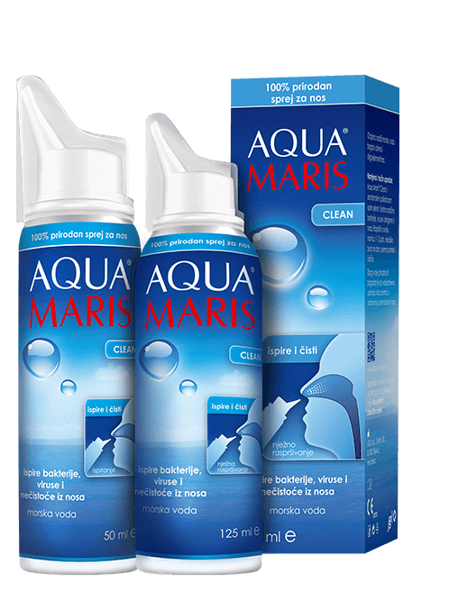 AQUA MARIS® CLEAN sprej za nos 50 ml