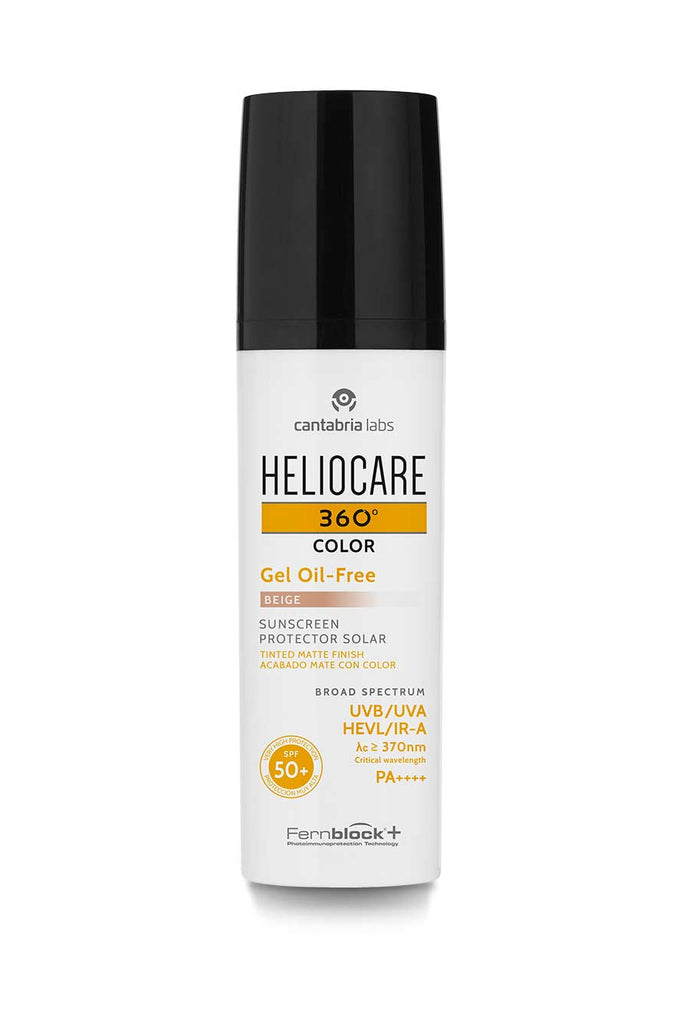 HELIOCARE 360º Gel Oil-Free Color SPF50 Bež 50 ml