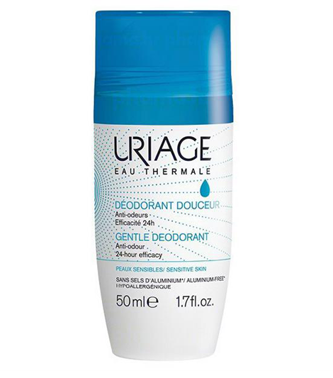 Uriage Deodorant roll-on, bez aluminija 50 ml