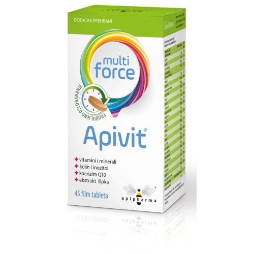 Apipharma Apivit Multi Force 45 tableta