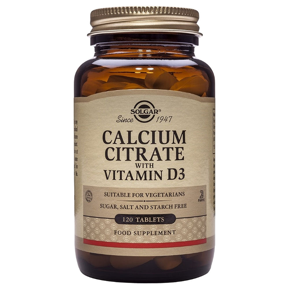 Solgar Calcium Citrat sa Vitaminom D 60 tableta