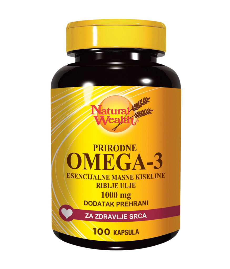 Natural Wealth Omega 3 100 kapsula