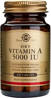 Solgar Vitamin A 5000 I.J. 100 tableta