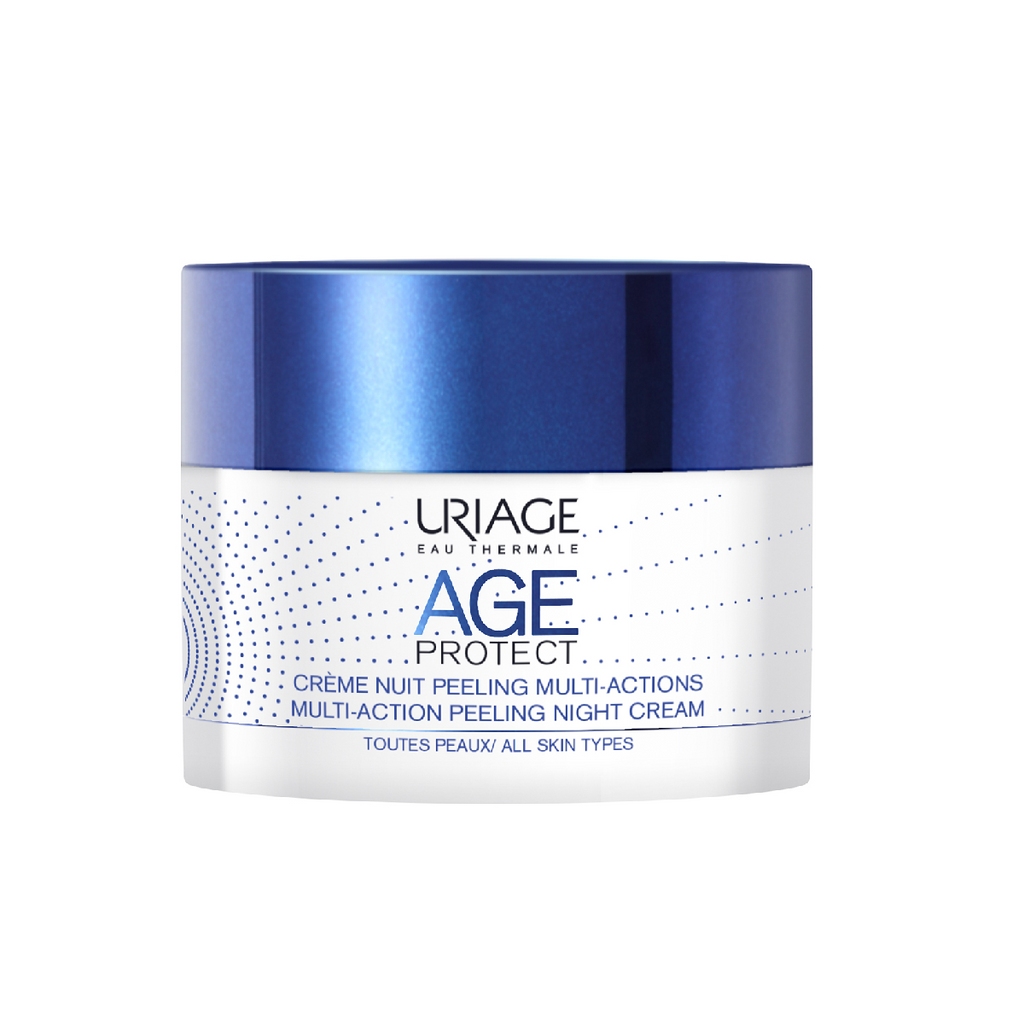 Uriage AGE PROTECT MULTI-ACTION PILING noćna krema 50ml