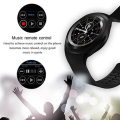 "1.54"" Bluetooth Smart Watch Android IOS - Gadget Runway"