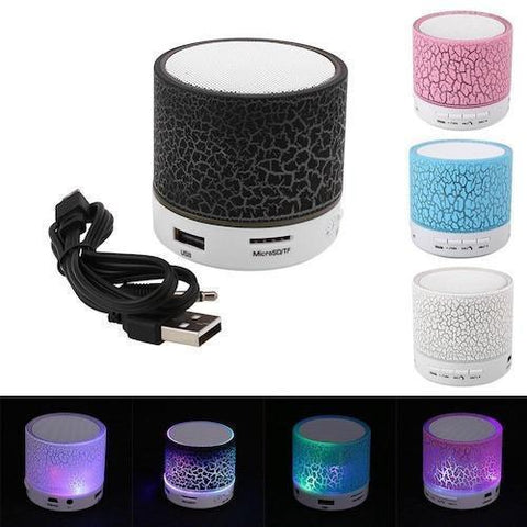 Portable LED Mini Bluetooth Speaker - Gadget Runway
