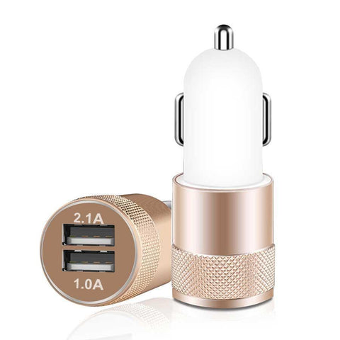 IST Universal Dual USB Car Charger - Gadget Runway