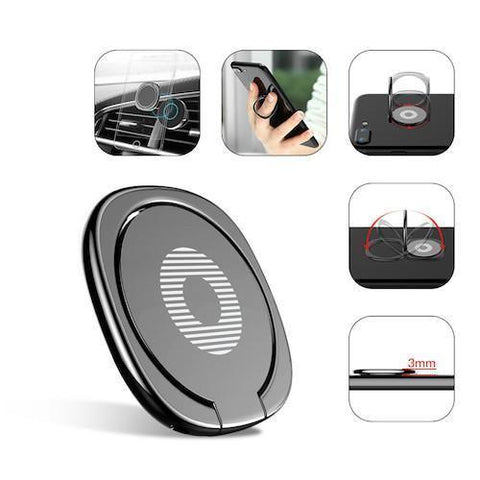 Baseus 360º Magnetic Phone Ring - Gadget Runway