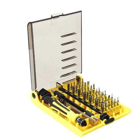 Scheppach 45 Piece Magnetic Precision Screwdriver Set - Gadget Runway