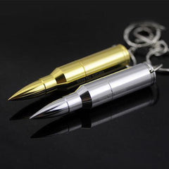 Bullet Shaped USB Flash Drive - Gadget Runway