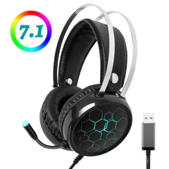Professional 7.1 Gaming Headset Headphones with Microphone Gamer Surround Sound