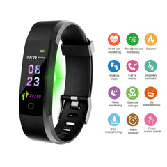 DOOLNNG New Smart Watch Men Women Heart Rate Monitor Blood Pressure Fitness Tracker