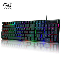 PC Gamer Backlight Gaming Keyboard and Mouse Combo