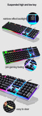 Wired Gaming Mouse keyboard Set with rgb led Backlight Keyboard & Optical Mouse