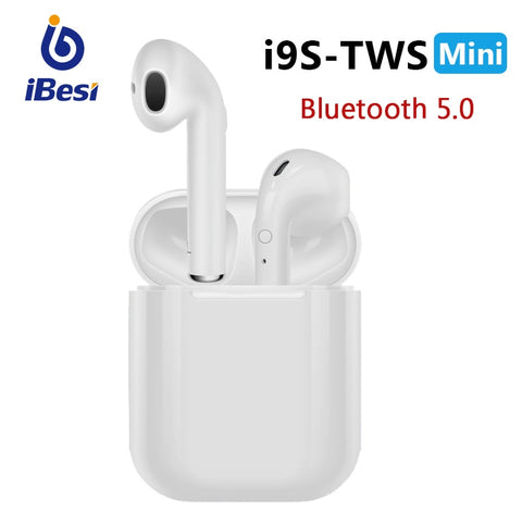 Headphones Mini Wireless Earbuds Sport Bluetooth Headset with Charging Box For Smart Phone