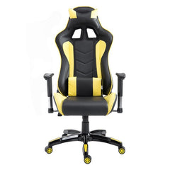 High Back Executive Racing Reclining Gaming Chair Swivel PU Leather