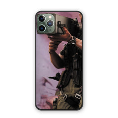 Arnold Schwarzenegger poster glossy soft shell case For iPhone
