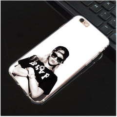 M349 Rihanna And Drake Soft TPU Silicone Case Cover For Apple