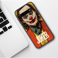 2019 Horror film Joker Joaquin Phoenix Soft silicone Phone Case For Samsung galaxy