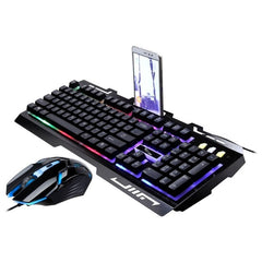 USB Wired Gaming Keyboard and Mouse Set